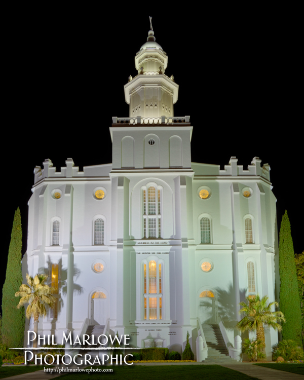 St George Temple HDR